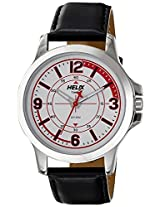 Helix Analog White Dial Men's Watch - TW023HG00