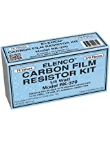 Elenco 1/4-Watt Resistor Kit, 370-Piece