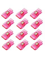 Imported 50 Pcs Wonder Clips for Crafts Hobbies Quilting Sewing Clips Pink