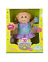Cabbage Patch Kids Celebration Girl Doll, Blond Hair and Brown Eyes