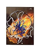 Metro Hard Plastic White And Blue Basketball Board