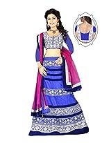 Astha Fashion Net Saree (Astha1092 _Multi-Coloured)