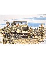 03150 1/72 Sd.Kfz.11 W/Bmw R75 Motorbike & Africa Corps