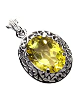 Admyro Designer silver pendant-Celebrity look designer pendant-Modern designer -AZP 675