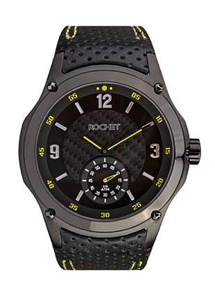 Rochet W103115 - Reloj de Caballero movimiento cuarzo con correa de piel Negro
