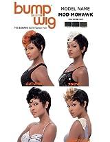 Sensationnel Bump Human Hair Wig Mod Mohawk 1 B