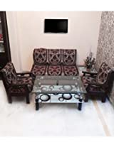 SHC Sofa Slip Cover (SSC_ARABIANBRN003) - Brown