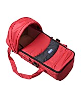 Chicco New Born Portable Soft Carry Cot - 0M-Red