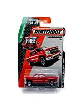 Matchbox MBX Explorers 14 Chevy Silverado 1500 Red #29/120