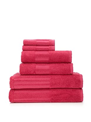 Garnier-Thiebaut 6-Piece Bath Towel Set (Framboise)