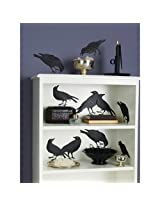 Martha Stewart Crafts Glittered Crow Silhouettes