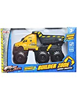 Maisto Quarry Monsters Dump Truck Die Cast Toy Truck (Yellow)