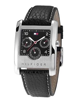 Tommy Hilfiger 1790287 - Reloj de Caballero movimiento de quarzo, correa de piel color negro