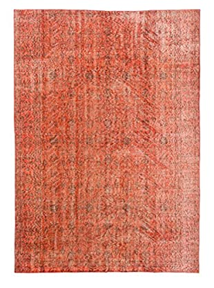 eCarpet Gallery One-of-a-Kind Hand-Knotted Color Transition Rug, Dark Copper, 6' 2