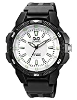 Q&Q Analog White Dial Unisex Watches - VR54J005Y