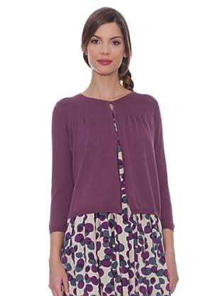SIYU Chaqueta Knit Lisos (Violeta)