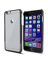 MTT® iPhone 6S / 6 Case Slim Fit Apple Logo Display Premium PC Case (ELECTRO SPACE GREY)