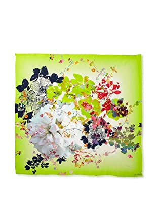 Ted Baker Women's Summer Silk Scarf, Bright Green, One Size