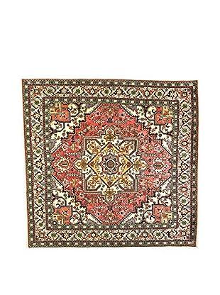 L'Eden del Tappeto Teppich Ardebil Tocco Seta rot/mehrfarbig 255t x t246 cm