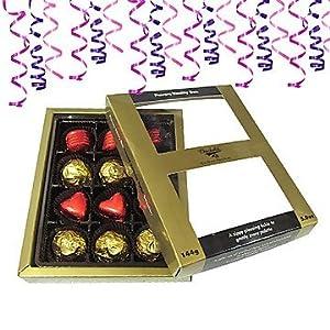 Chocholik Luxury Chocolates - Gift of Elegance 12pc Chocolate Box