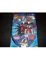 SEA DIVER SPIDEY with Pump-Up Inflatable Sea Spider Web Splashers Series 1997 Marvel Comics Spider-Man Action Figure Accessories