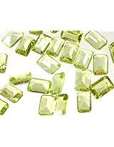 Peridot mm Octagonals (Price Per 5 Pieces) -