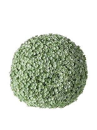 Outdoor Bola Artificial Boj Blanco / Verde