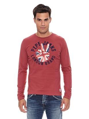 Pepe Jeans London Camiseta Harrison (Rojo Medio)