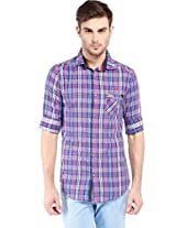 Vintage Purple Slim Fit Shirts