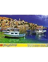 Puzzle Bug 300 Piece Puzzle ~ Symi Island, Dodecannes, Greese