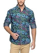 Spykar Men Cotton Indigo Casual Shirt (X-Large)