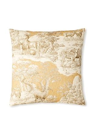 The Pillow Collection Feramin Toile Decorative Pillow (Safari)
