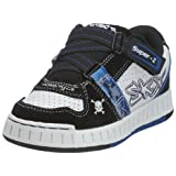 Skechers Boys Boys' NolliesFreestyle Black / White 13 Child UK Regular