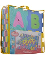 Bloomy Alpha-Numeric Play Mat, Multi Color (36 Pieces)