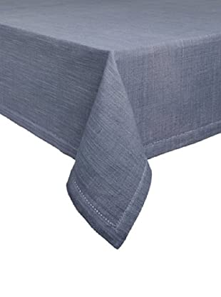 Couleur Nature Hemstitch Tablecloth (Paris Grey)