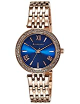 Giordano Analog Blue Dial Women's Watch - 2713-55