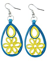 Designer's Collection Paper Quilling Ear Rings for Women-DSERB024