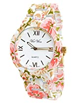 Geneva Flower Style Fashion Women Watch