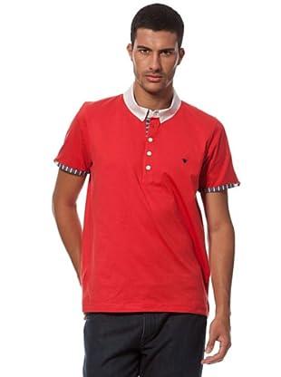 Caramelo Basic-Poloshirt (Rot)