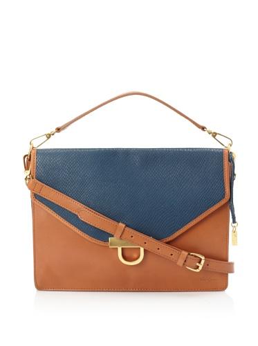 Foley + Corinna Women's Large Letter Bag (Sapphire)