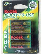 Kodak READY-TO-USE Rechargable 2100 AAX4 Cell