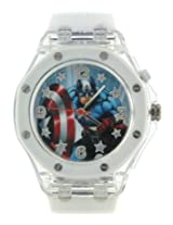 Marvel Analog Multi-Colour Dial Boy's Watch - AW100368