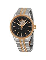 Raymond Weil Freelancer Black Dial Two-tone Stainless Steel Men's Watch (2710-SP5-20021)
