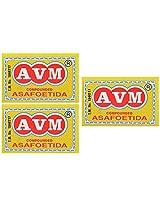 AVM Compounded Asafoetida Cake, 50 grams (Pack of 3)