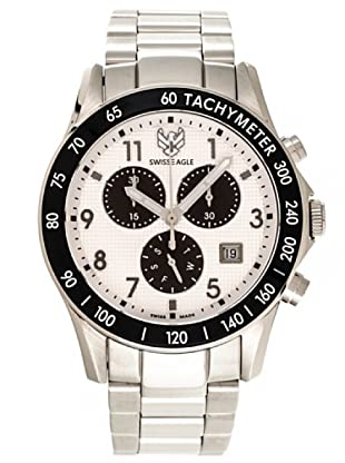 Swiss Eagle Reloj Field Talon blanco
