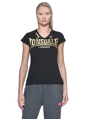 Lonsdale Camiseta Jenny (Negro)