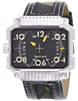 Fastrack Commando Analog Black Dial Men's Watch - 3087SL01