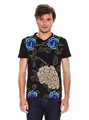 Desigual Camiseta Sandro Rep (Negro)