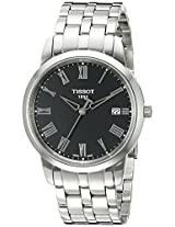 Tissot Classic Dream Analog Black Dial Men's Watch T0334101105301