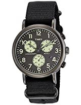 Timex Weekender Chronograph Black Dial Men's Watch - TW2P71500